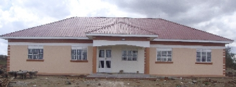 Completed Napak District production office